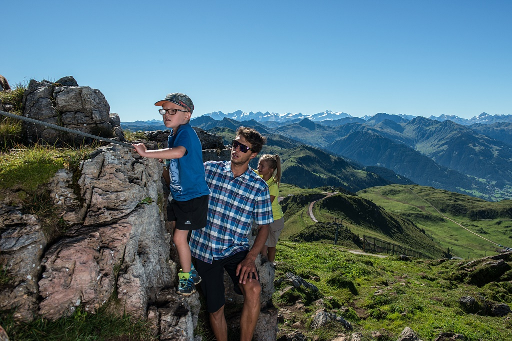 Klettersteig Für Kinder : Gesicherter klettersteig für kinder