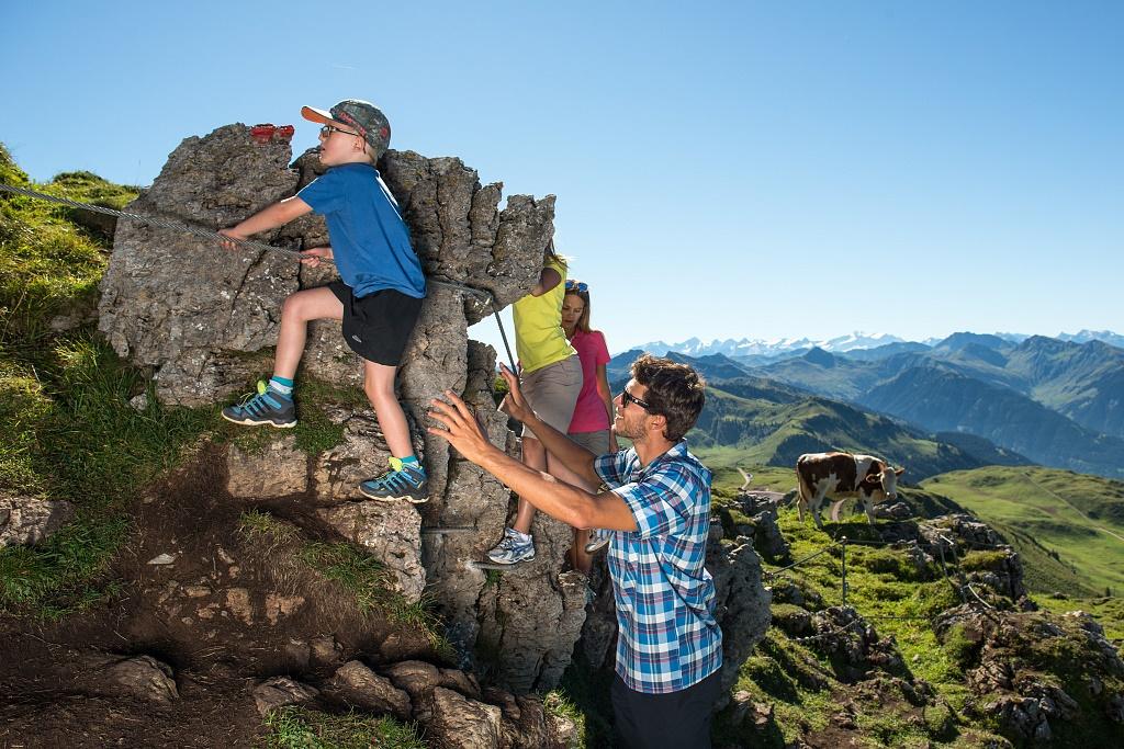 Klettersteig Kinder : Klettersteig abenteuer für kinder